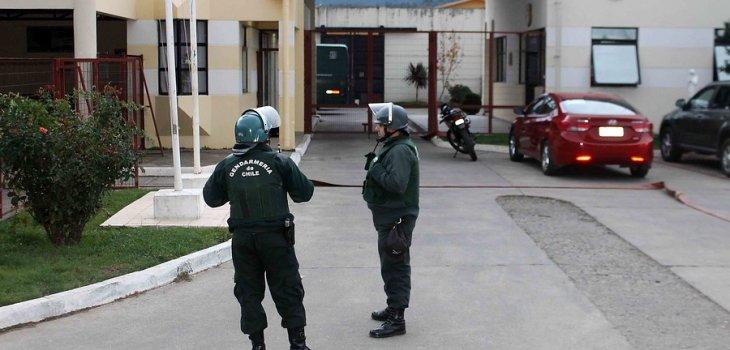 Cárcel de Angol | Marcelo Cartes/AgenciaUNO