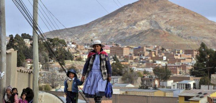 BOLIVIA-POTOSI-UNESCO-HERITAGE-DANGER/AFP