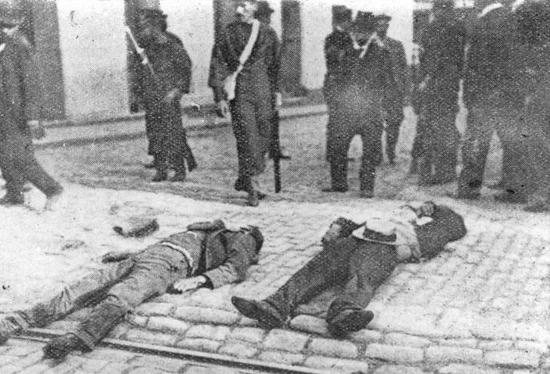 Huelga portuaria de Valparaíso 1903 | Memoria Chilena