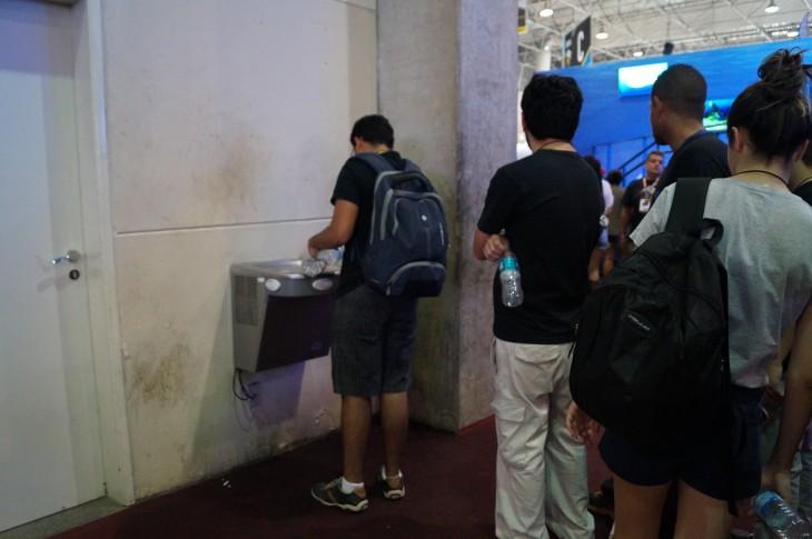 La zona para recargar agua   Eduardo Woo / BBCL