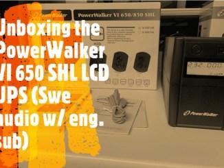 Test av PowerWalker VI 650 SHL LCD