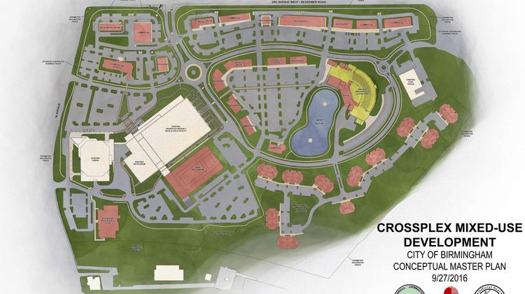 Work on CrossPlex Village is set to begin after a groundbreaking on the project on Jan. 11.
