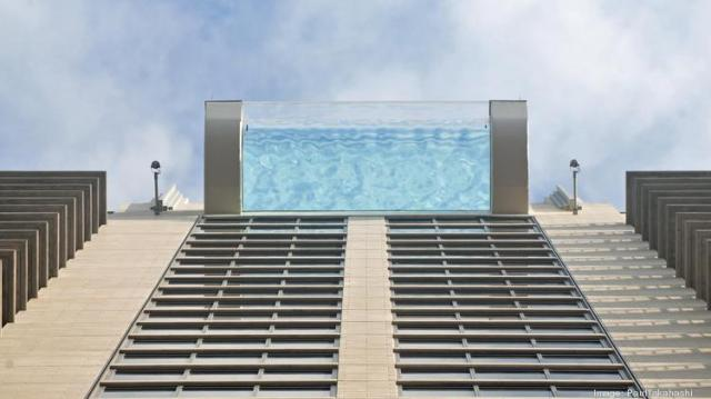 Image result for pool in houston market square