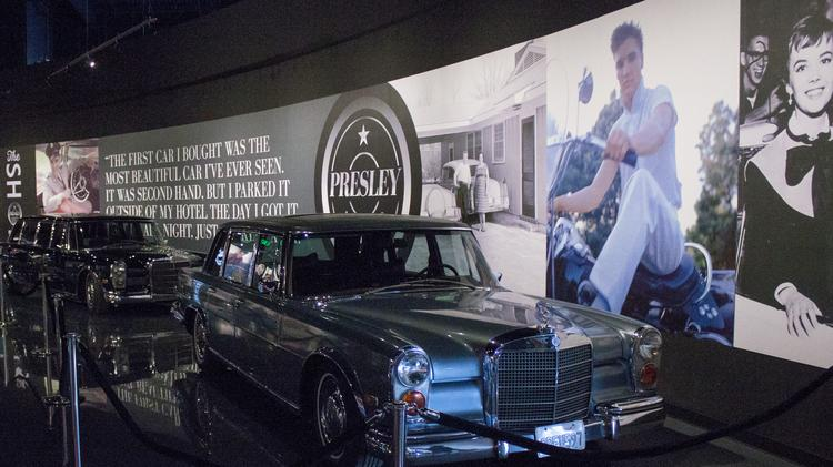 """Presley Motors"" automobile museum"