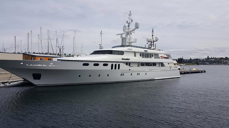 Two World Class Yachts Georgia And Invader Settle Into
