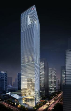 A rendering of One Brickell CityCentre