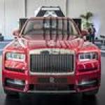 The Roll-Royce Cullinan SUV makes its US debut in Miami