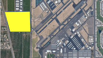 The city of Mesa is seeking a developer to create the Falcon Tech Center on 70 acres of land near the Falcon Field Airport.