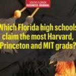 These South Florida high schools claim the most Harvard, Princeton and MIT grads in the state
