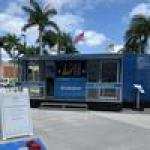 Chase's 'BizMobile', a banking center on wheels, makes two stops in Miami