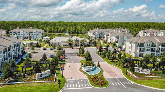 2019 Best Green Project Disney Area Apartments Among