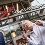 Billionaire Richard Branson visits South Florida to rebrand Brightline as Virgin Trains (Photos)
