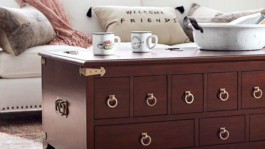 pottery barn introduces new friends