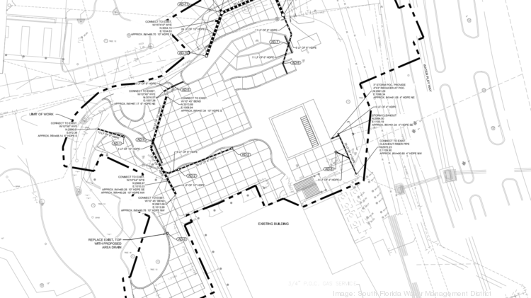 Site plans show the area of a potential future Aquatica attraction.