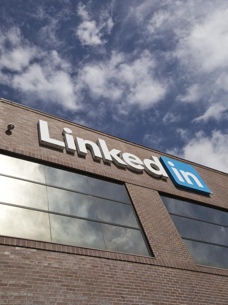 Microsoft and LinkedIn are each major corporate entities in Mountain View and Sunnyvale.