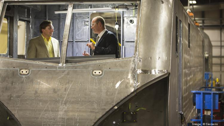 Siemens will be manufacturing locomotives and passenger rail cars for the $2.5 billion All Aboard Florida system from Siemens' rail facility in Sacramento, Calif.