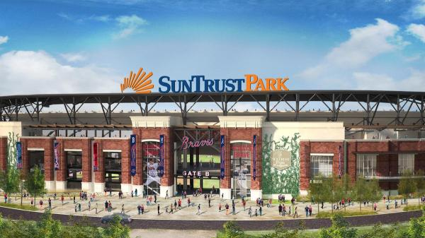 SunTrust buys naming rights to new Braves stadium ...