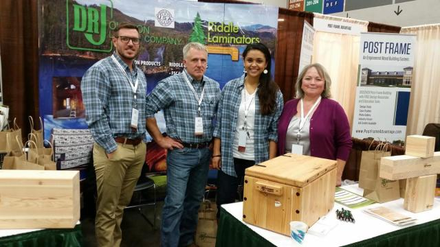 Valerie Johnson is a wood products pioneer pursuing a ...