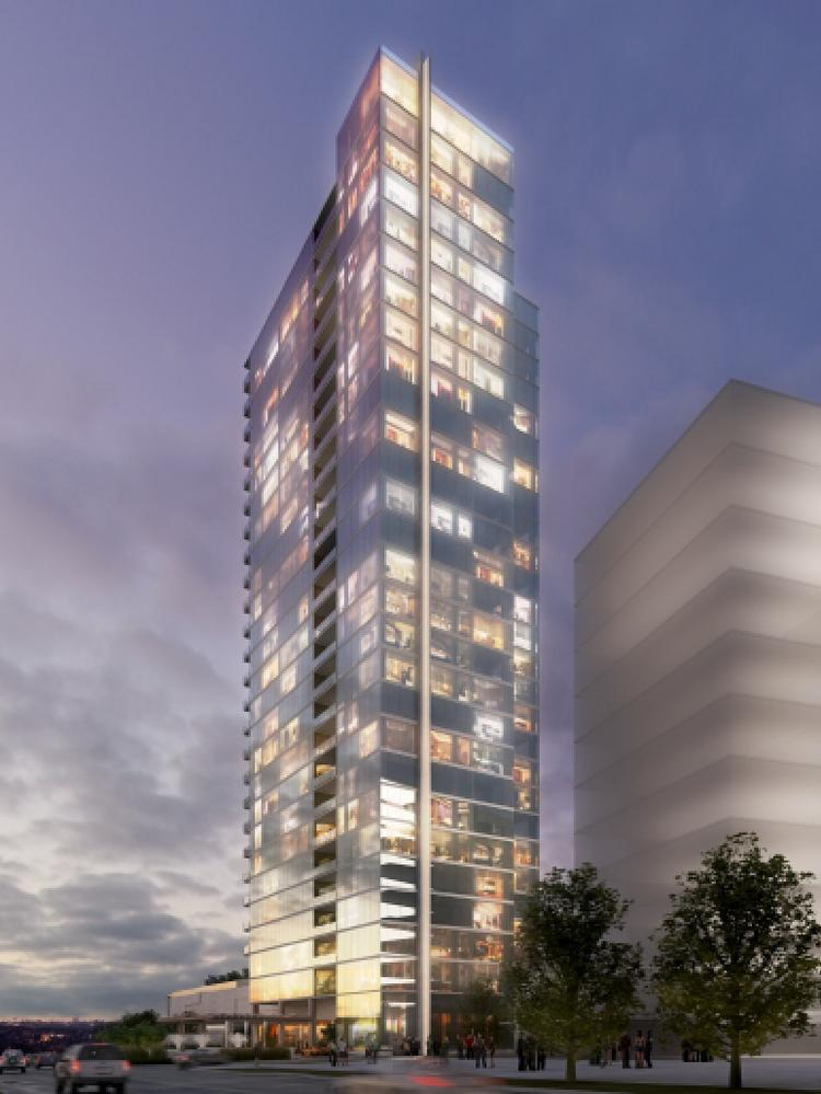 Luxury Condo Tower Gets Underway At 2B Legacy West