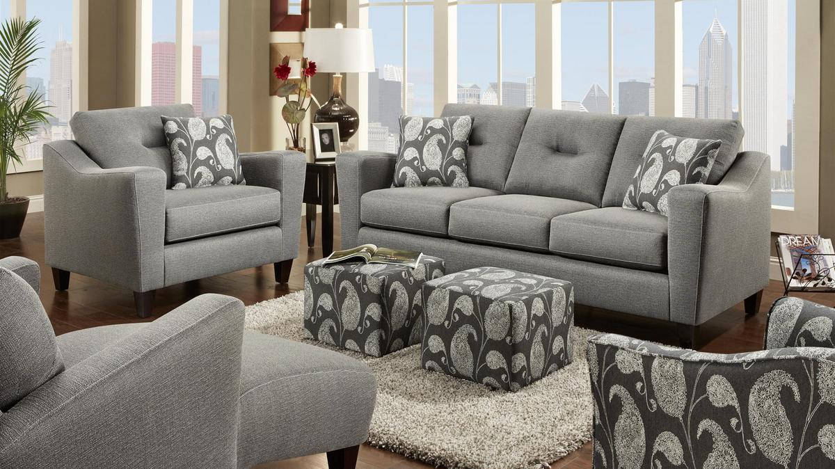 Family Room Sofa And Loveseat