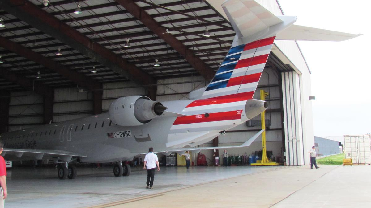 Image result for PSA Airlines maintenance Bombardier