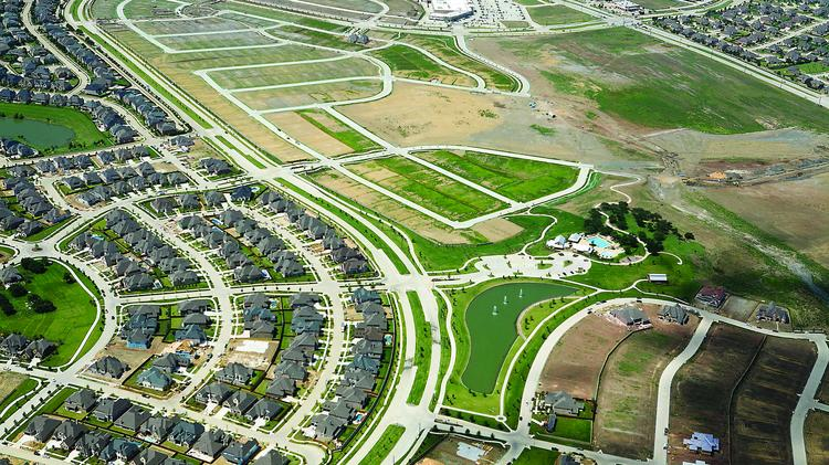 Housing permits are down in Frisco as the market matures and land costs escalate.