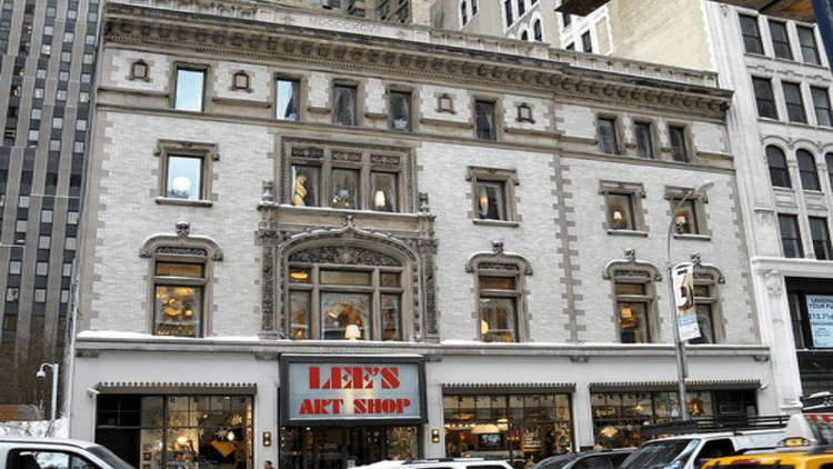 Lee's Art Shop, at 220 West 57th Street, is set to close after 65 years in business.