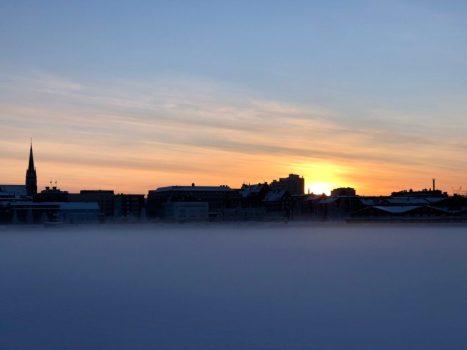 2 januari - Luleås skyline, av Ewa