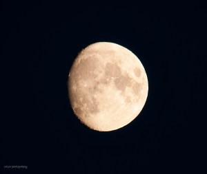 Månen 22 dec 2015 14.05