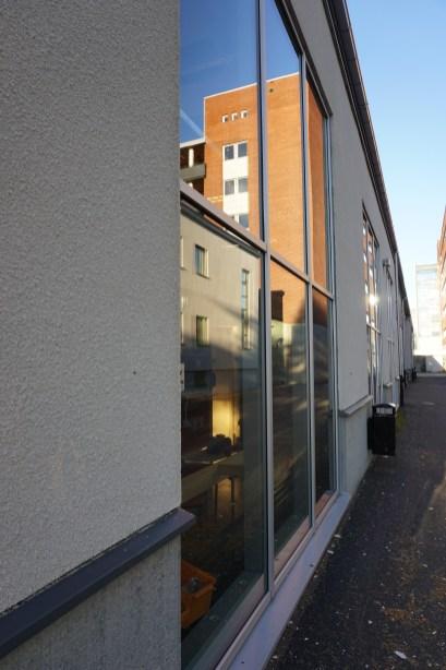 Gymansieskolan. Kvarteret Hackspetten, Luleå.