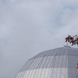 Denna kupol ger mig en känsla av andlighet. Ewa
