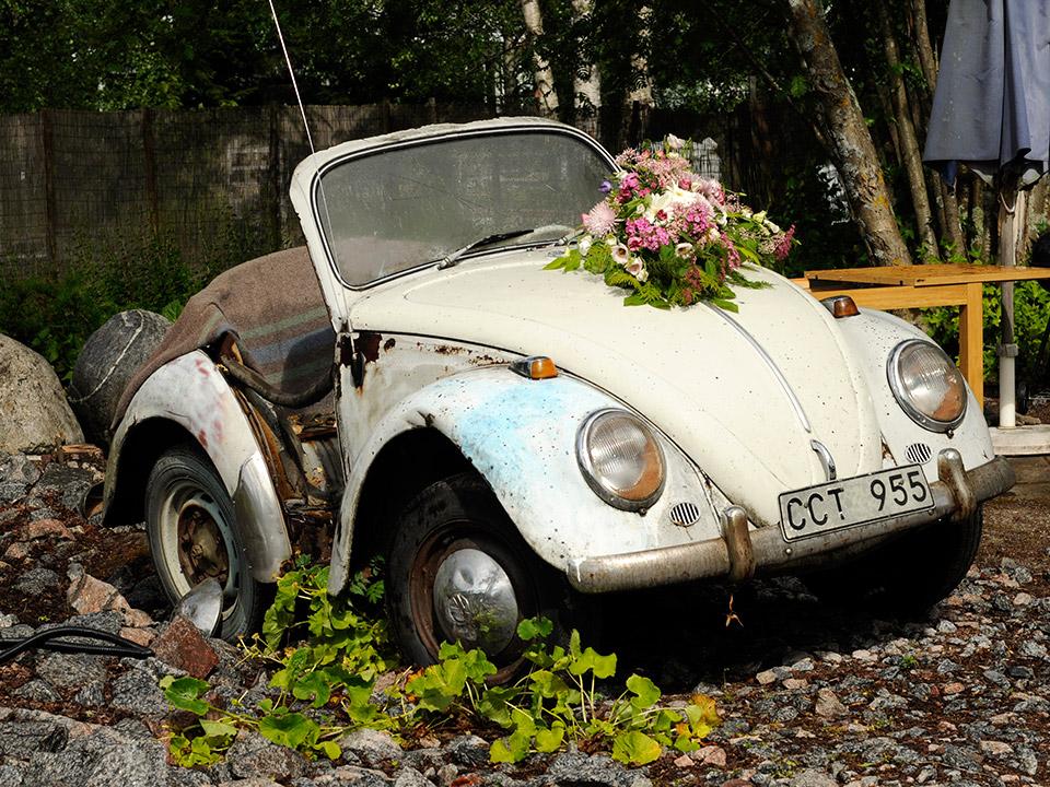 Planterad bil - Gunbritt