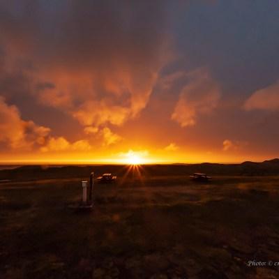 Solnedgång Andenes kl 23.28