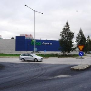 4 september - Coop-muren på Örnäset.