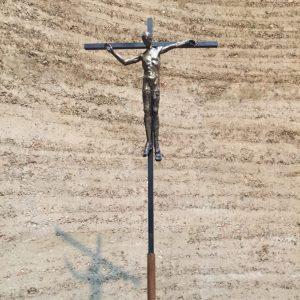 21 september - Kristusbild i Försoningskapellet vid  Minnesplatsen för murens offer i Berlin.