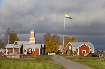 Kukkolaforsen på Svenska sidan - av Malin