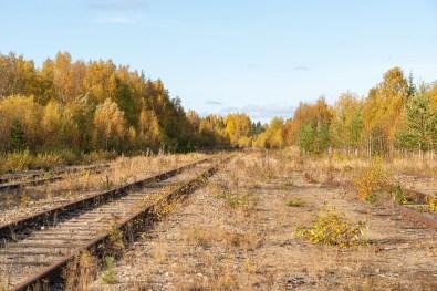 Karungi järnvägsstation -av Margareta
