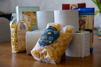Toalettpapper och pasta har ökat i betydelse - av Eva