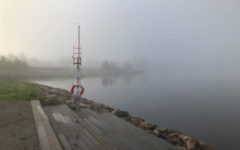 Skurholmsfjärden - av Malin