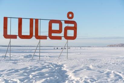 Isvägen Luleå -av Margareta