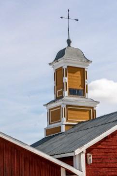 Klocktornet vid Kukkolaforsen april 2020-av Margareta