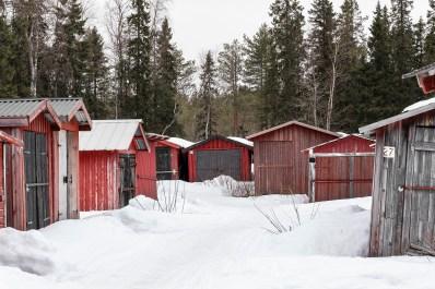 Skotergarage Luleå -av Margareta