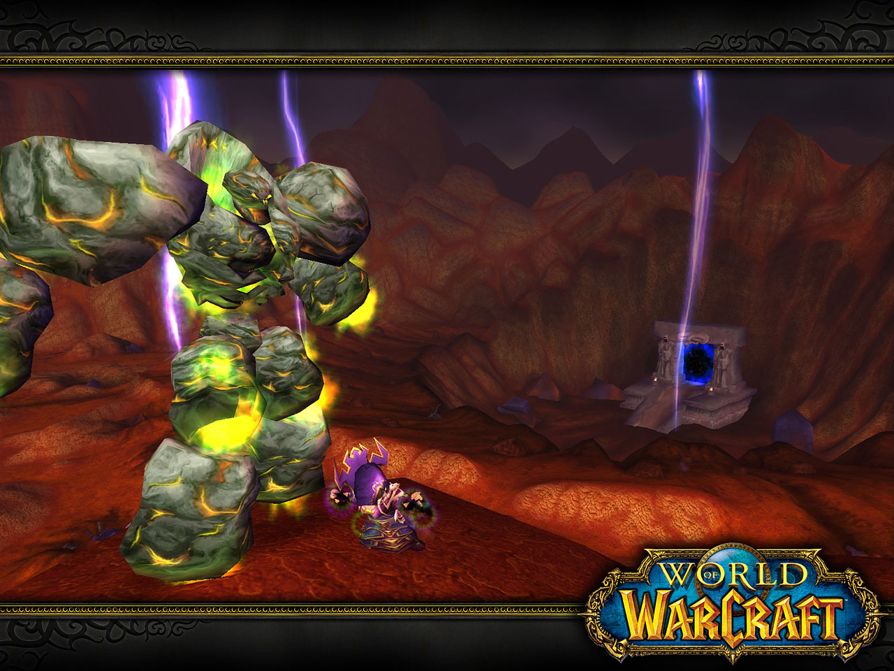 Un Golem en World of Warcraft