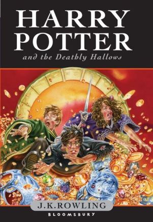Image result for harry potter and the deathly hallows book