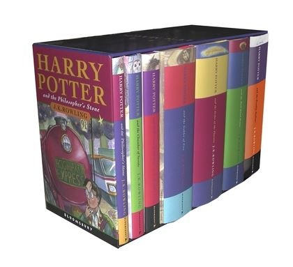 Image result for harry potter book set
