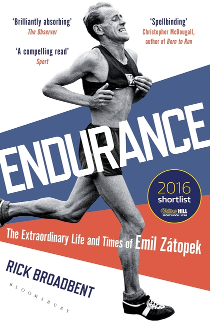 Image result for Endurance: The Extraordinary Life and Times of Emil Zátopek by Rick Broadbent