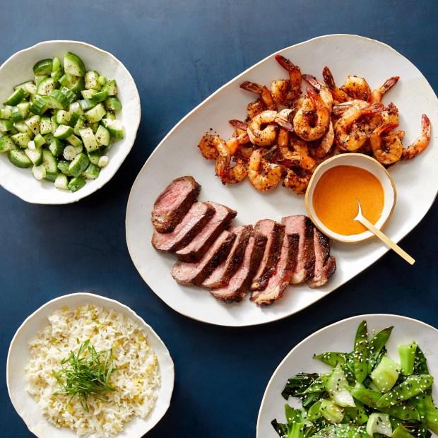 blue apron premium hibachi recipe