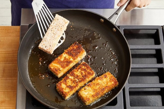 Cook the tofu & serve your dish