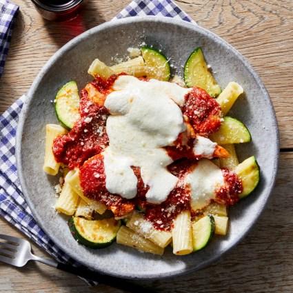 Stovetop Chicken Parmesan with Elicoidali Pasta