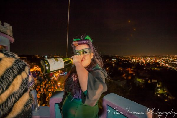 The Flying Morgans threw another insane NYE bash